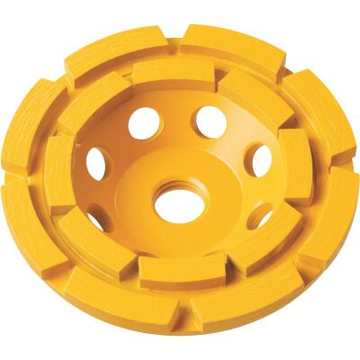 DeWalt 4 In. Double Row Diamond Cup Wheel