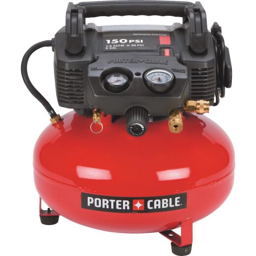 Porter Cable 6 Gal. Portable 150 psi Air Compressor