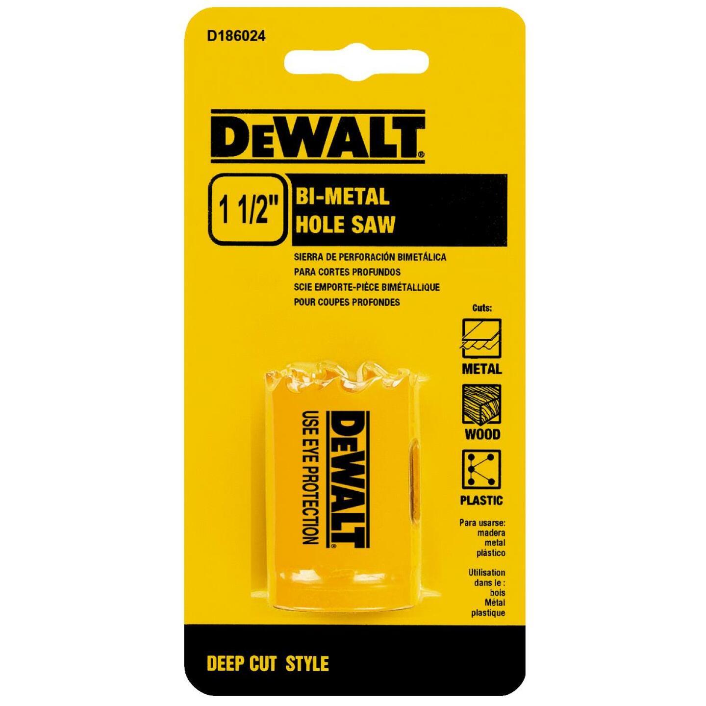 DeWalt 1-1/2 In. Bi-Metal Hole Saw Image 1