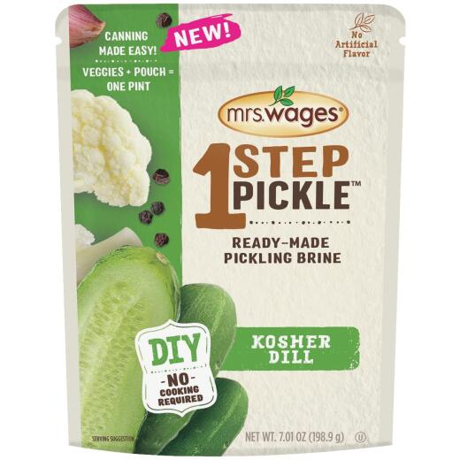 Mrs. Wages One Step Pickle Kosher Dill Pickling Mix