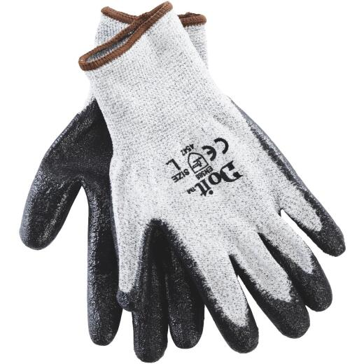 Do it Men's Large Cut Resistant Nitrile Coated Glove