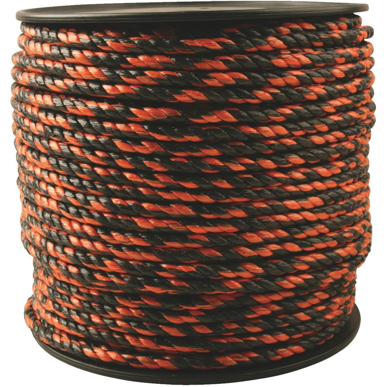 Do it 3/8 In. x 450 Ft. Orange & Black Truck Polypropylene Rope Image 1