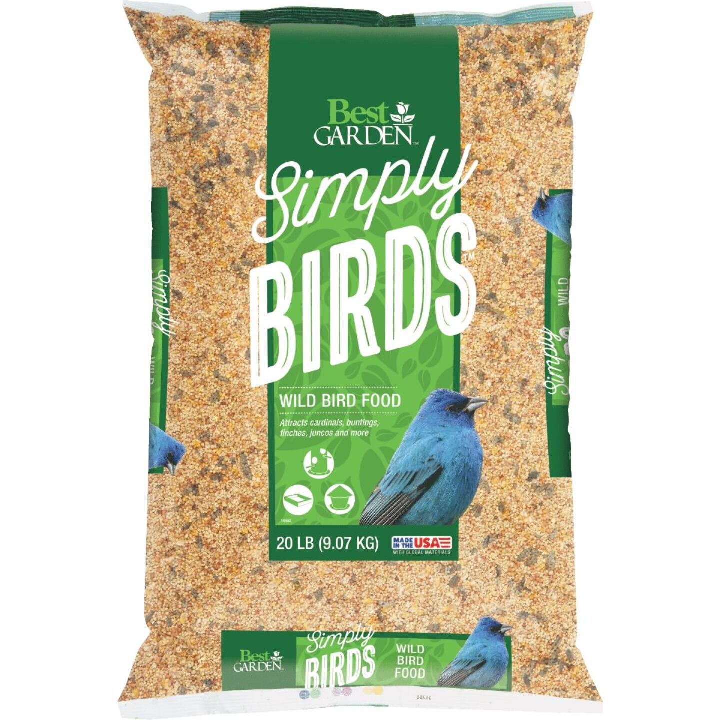 Best Garden Simply Birds 20 Lb. Wild Bird Seed Image 1