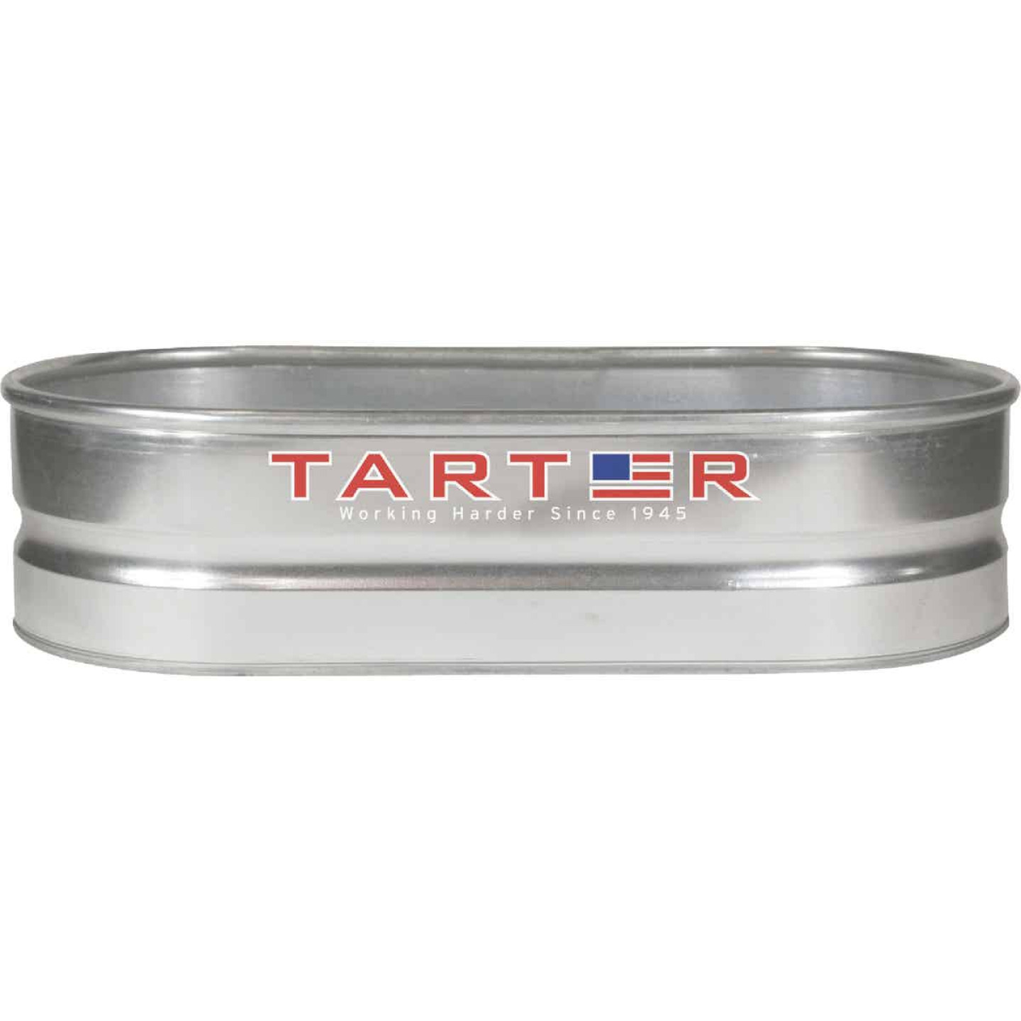 Tarter 40 Gal. Zinc-Coated Steel Galvanized Stock Tank Image 1