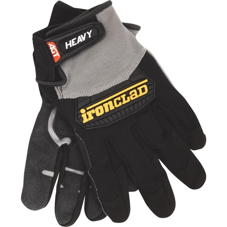 Ironclad Heavy Utility Men'sLarge Synthetic Leather High Performance Glove Image 1