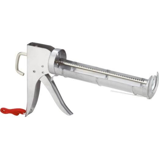 10 Oz. 3.5:1 Thrust Professional Ratchet Cradle Caulk Gun