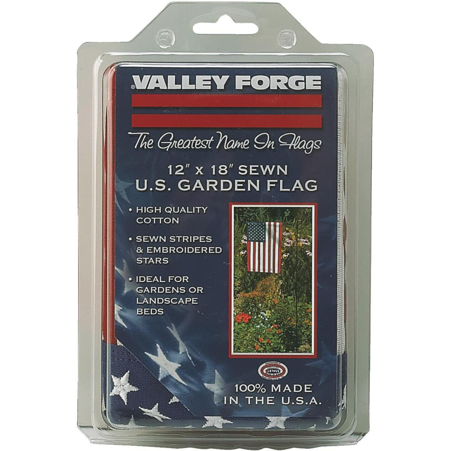 Valley Forge 1 Ft. x 1.5 Ft. Cotton Garden American Flag Image 4